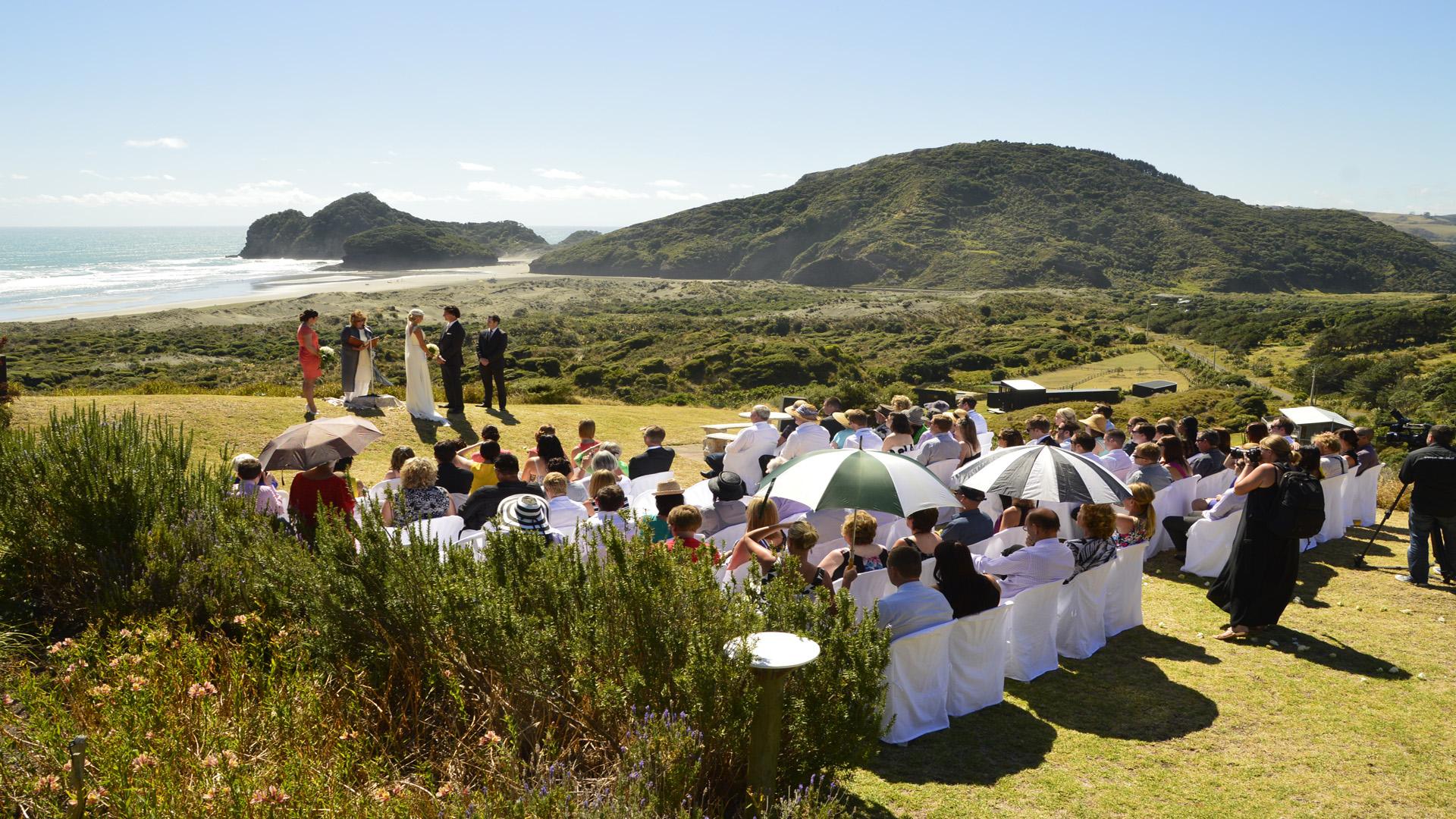 West Auckland Wedding Venue At Bethells Beach